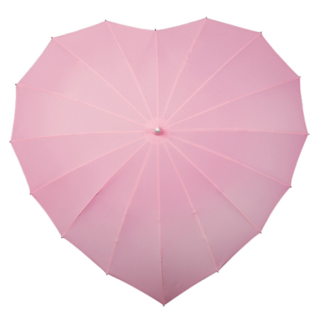 Heart Umbrellas - Soft Pink
