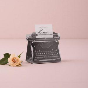 Vintage Typewriter Favour Box Kit