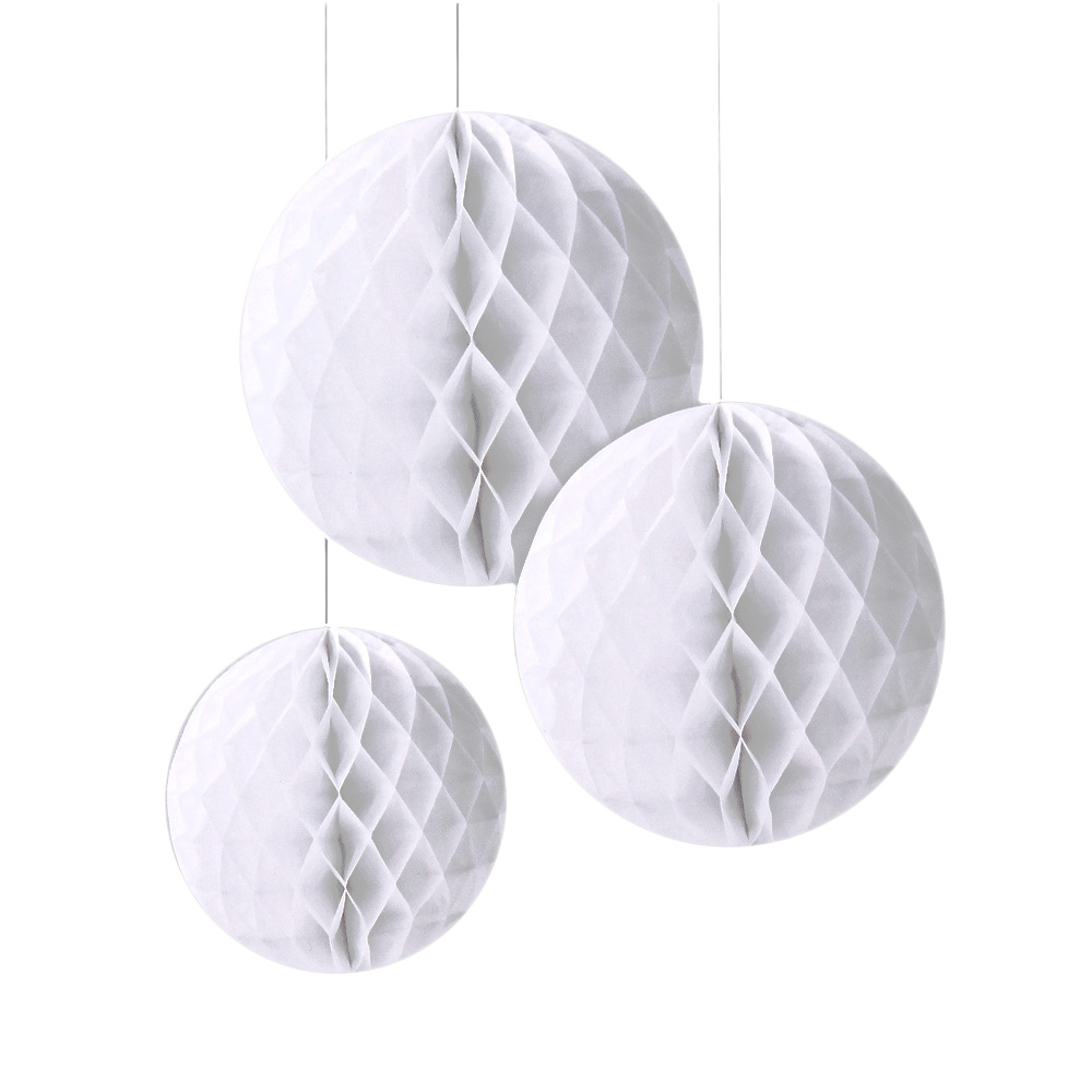 White Honeycomb Set