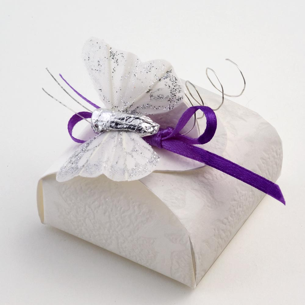 White Sorgente Mini Astuccio Favour Box