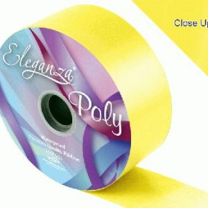 Yellow Wedding Car Ribbon