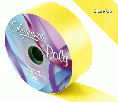 Yellow Wedding Car Ribbon