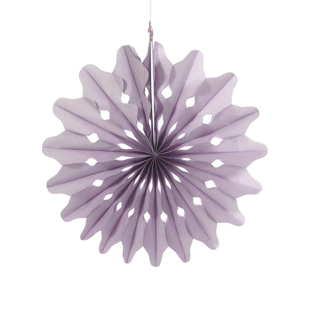 Oslo Paper Fan Decorations