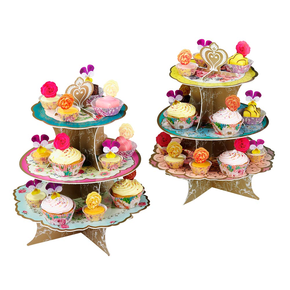 Truly Scrumptious Cup Cake Stand