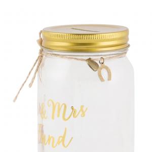 Mr & Mrs Gold Fund Jar
