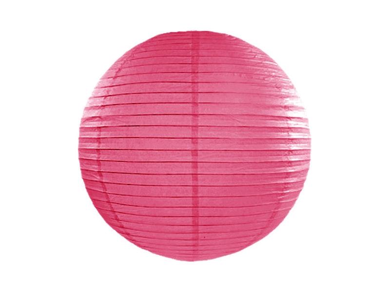 Hot Pink Paper Lanterns 18inch