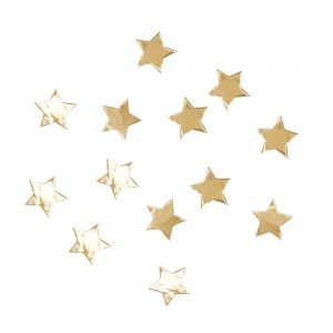 Gold Star Shaped Confetti