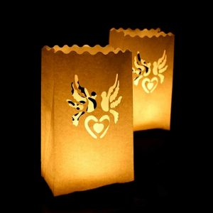 Heart & Doves Lanterns