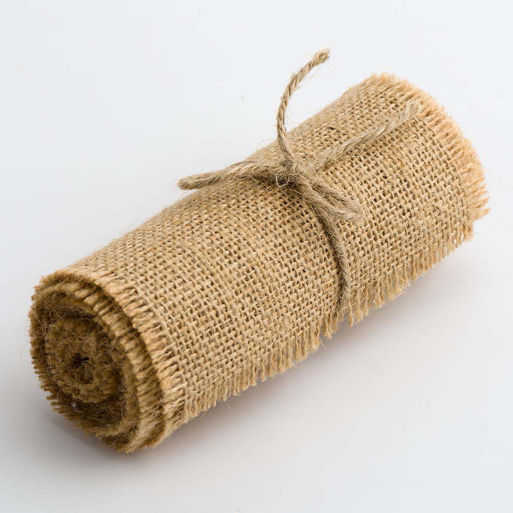 Hessian Ribbon Roll - 120mm