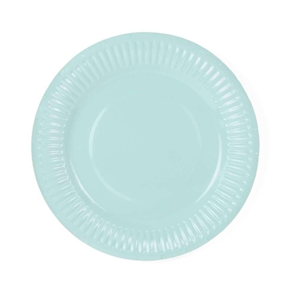 Mint Paper Plates