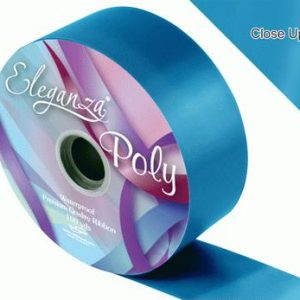 Turquoise Wedding Car Ribbon