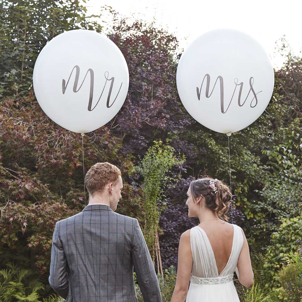 Giant Mr And Mrs Balloons