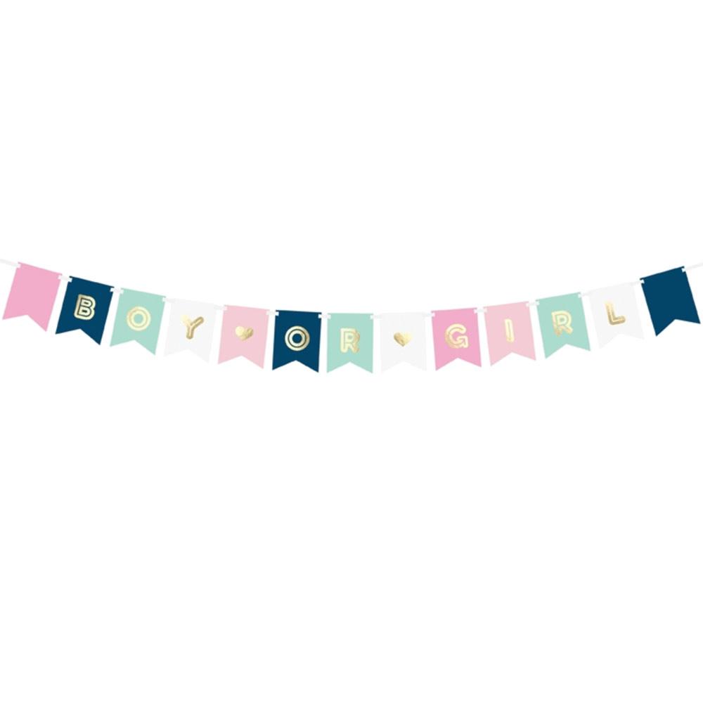 Boy or Girl Banner Kit