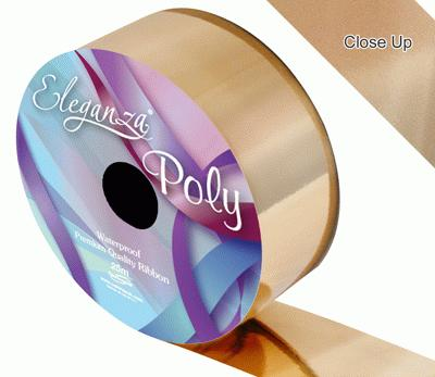 Metallic Gold Wedding Car Ribbon