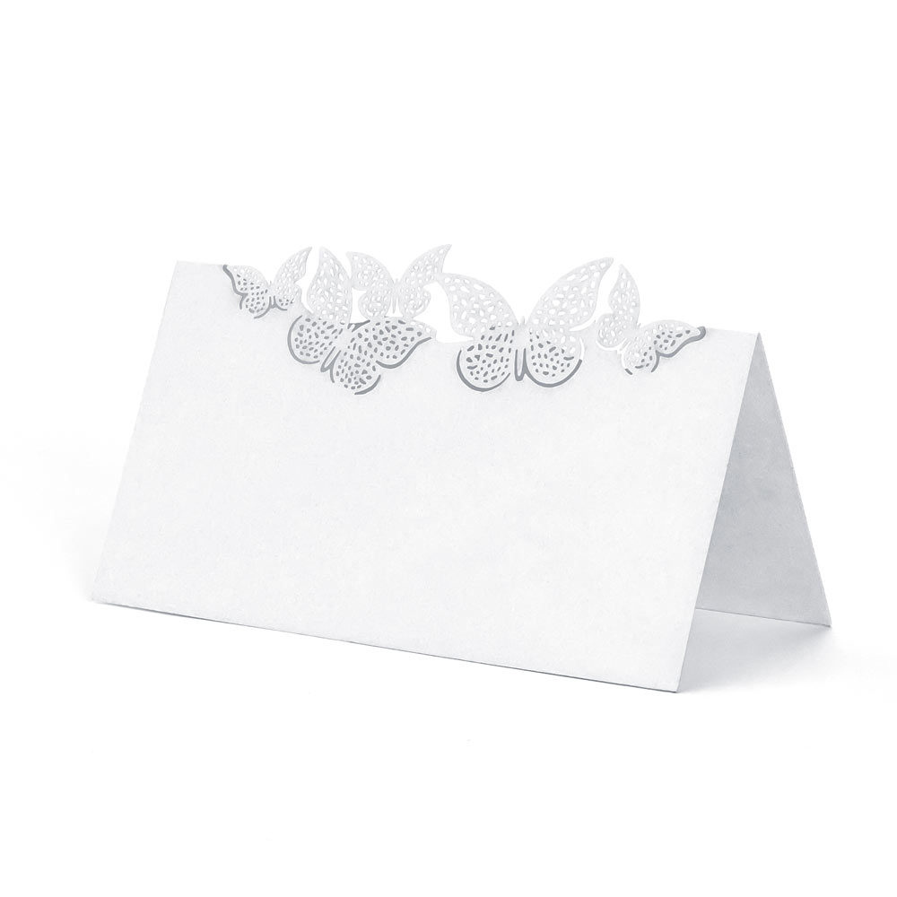 Fluttering Butterfly Place Cards